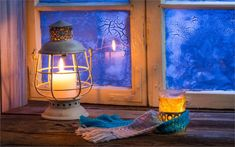 Lighting up candles can add warmth to your home.