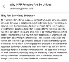 Why INFP females are so unique Infj Infp, Intp, Introvert, Infp Personality Traits, Myers Briggs Personality Types, Personalidade Infp, Feelings, Educational Leadership, Educational Technology