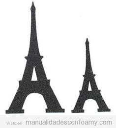 Torre Eiffel De Goma Eva Tema De Paris Torre Eiffel Fiestas Tematicas Parisinas
