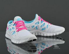 Nike Womens Nike Free Run- someday in the near future I may need to replace my nike frees. I love them so much I'm definitely getting them again and it's just to decide on the color! If white would stay like this I'd do it in a heartbeat...