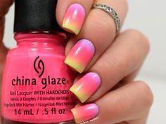 Summer gradient nails…en hiver! • Hellocoton.fr