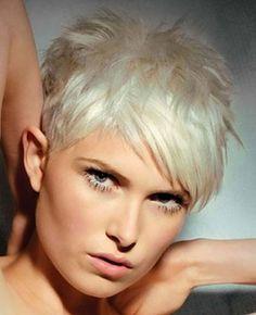 New hair Charming Platinum Pixie Cut pics « Sevvven – Hairstyles ...
