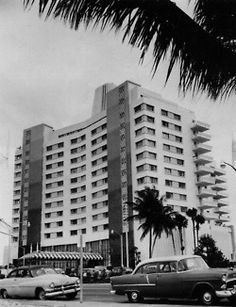 Eden Roc Miami Beach has always been timelessly chic. Completed in 1956, Eden Roc was Morris Lapidus most lavish design, attracting a steady stream of celebrities, including Elizabeth Taylor, Lucille Ball, Desi Arnaz, Lena Horne, Jerry Lewis, Sammy Davis, Jr., Ann Margret and others. #TBT #ThrowbackThursday