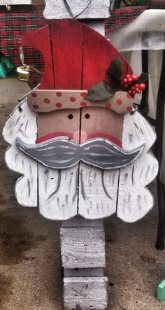 Hey, I found this really awesome Etsy listing at https://www.etsy.com/listing/215736727/christmas-door-hanger-santa-clause
