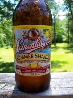 Summer Shandy....what I LOVE about summer!