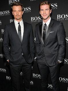 Josh Duhamel & Liam Hemsworth
