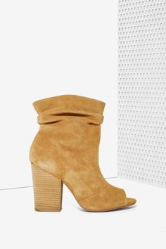 Leila Suede Bootie - Shoes
