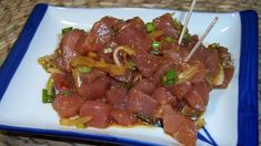 Maui Ahi Poke Recipe - Genius Kitchen