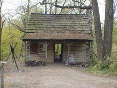 1836 log house