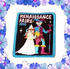 GIRL SCOUT badge patch RENAISSANCE FAIRE 2010 #RENAISSANCEFAIRE  #girlscouts #patch