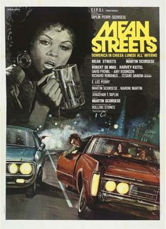 """Mean Streets"" (1973). COUNTRY: United States. DIRECTOR: Martin Scorsese."