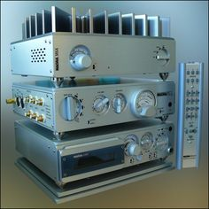 Nagra CDP player and PLL preamplifier stack - This will probably go in the 'HiFi' section too and rightly so. However, why I've included it here is simply because Nagra took ever single haptic interaction that their top of the line recorders were known for and sold it forward - the dealers who carried this line were trained never touch the stack and to let the customer experience the stunning haptic solidity....K