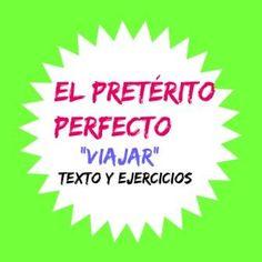 Estudiar LOS PASADOS  en español no es fácil. Con este ejercicio vas a conocer mejor el PRETÉRITO PERFECTO ; puedes leer un texto como e...