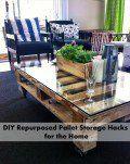 DIY Repurposed Pallet Storage Hacks for the Home