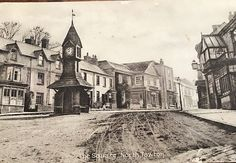 North Tawton square Devon Visit Devon, Writers, Texts, This Is Us, Places, Pictures, Painting, Life, Image
