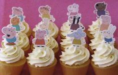 12 Stand Up Premium Oblea Comestible Cake Toppers Adiós y suerte