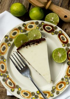 GF Vegan Key Lime Pie-top view