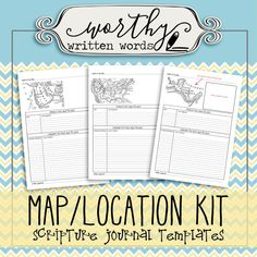 Three templates to help you study your locations found in the scriptures. Use the Arabia and Central America Templates for your Book of Mormon studies. Use the United States Template for your Doctrine