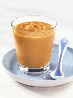 Süßkartoffel-Rindfleisch-Brei | Je kräftiger die Farbe der Süßkartoffel, desto höher der Betacarotin-Gehalt. Der Hafer gewöhnt Ihr Baby an Gluten.