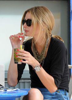 Olivia Palermo, celebrity watches, eRelyx, Rolex, Rolex Daytona