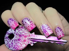 Nail Wish is at The Clockwise Nail Polish  GORGEOUS COLOURS/STAMPS - LOOKS FABULOUS! <3<3<3 @
