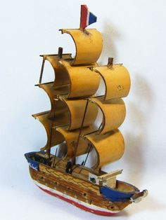 Vintage Toys - Small handmade wooden ship - some small parts missing for sale in… Wooden Ship, Handmade Wooden, Vintage Toys, Art, Art Background, Old Fashioned Toys, Kunst, Performing Arts, Old School Toys