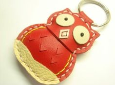 I love my red leather owl key chain from Leather Prince!  One time I accidentally/stupidly dropped my keys off the side of our boat into the depths of a lake and I almost cried for my cute little owl more than for the fact that we were stranded at the boat dock in the middle of nowhere…and everyone was mad at me.  He's so cute! #shepicks stocking stuffers #christmasstocking