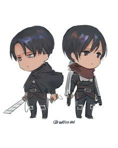Levi x Mikasa Eren And Mikasa, Armin, Levi Squad, Rivamika, Attack On Titan Levi, Anime People, Manga, Memes, Chibi