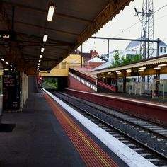 Quiet Morning at South Yarra Station