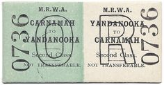 Blog Post - Carnmaah to Yandanooka: Return by Second Class http://carnamah.blogspot.com/2011/10/carnamah-to-yandanooka-return-by-second.html