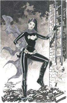 Black Bat: Cassandra Cain - Art by Tony Daniel