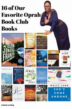 Some of the all-time best Oprah book club books to read with your group. #books #bookclub #oprah