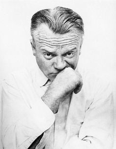 James Cagney | by Richard Avedon for  Harper's Bazaar in 1955