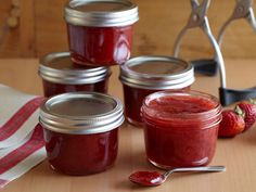 Strawberry Jam recipe from Ree Drummond via Food Network