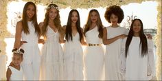 Photographic Evidence that Tina Knowles' Wedding Party Is Completely Without Flaw  - ELLE.com