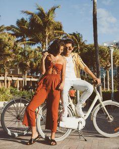 @nadia_mejia @jheuston #COTTONONTRAVELS Nadia Mejia, Miami, Jumpsuit, Photo And Video, Cute, Cotton, Instagram, Dresses, Fashion
