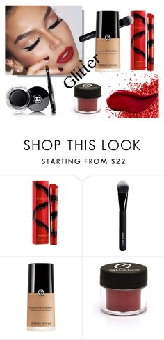 """""""Party Lips!"""" by suzieis53 ❤ liked on Polyvore featuring beauty, Elizabeth Arden, Givenchy, Chanel and Kat Von D"""