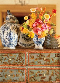 Flowers and Fine Antiques