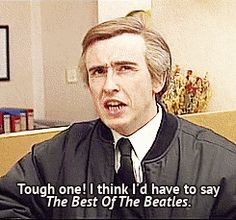 Talking about music. | 39 Splendid And Tremendous Alan Partridge Moments