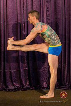 Men's Antara Shorts at the 2013 Canadian Hatha Yoga Championships