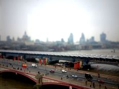 View over Blackfriars bridge