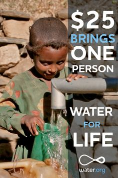 Give water. Give hope. Give Life. https://donate.water.org/?sq=pinterest
