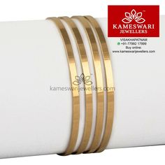 Gold Bangles Plain Gold Bangles, Gold Bangles Design, Jewelry Design, Gold Necklace Simple, Gold Jewelry Simple, India Jewelry, Gold Jewellery, Weird Jewelry, Wedding Jewelry