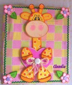 carpetas-de-foami-animales-jirafas-mariposas-abejas-y-mas-753501-MLV20330473388_062015-O.jpg (423×500)