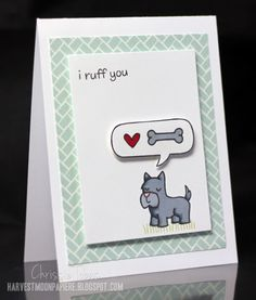 I Ruff You! by ctobas77 - Cards and Paper Crafts at Splitcoaststampers  lawn fawn