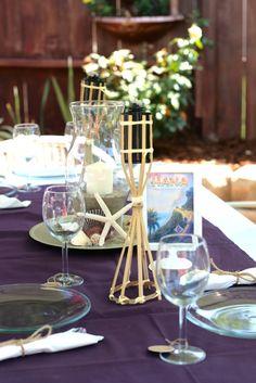 hawaiian luau bridalwedding shower party ideas