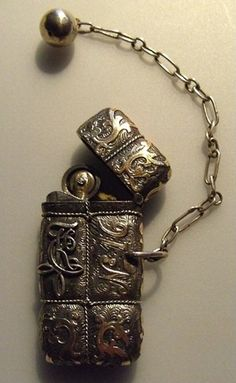 russian silver lighter