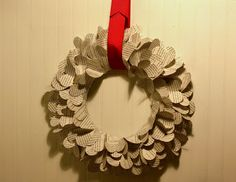 Flower Patch Farmgirl: Valentine Book Wreath