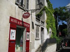 L'entrée du musée de Montmartre