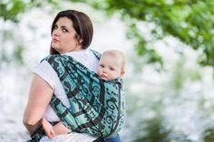 Smitten with wovens Soren - Stix baby wrap